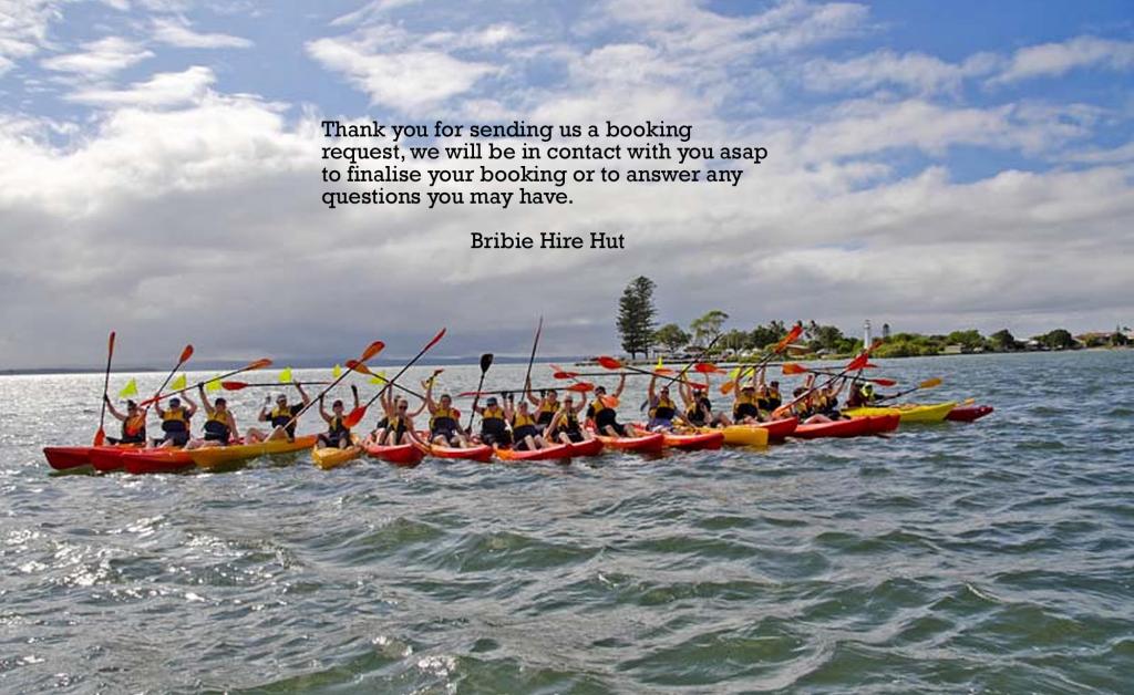 kayak tours Bribie